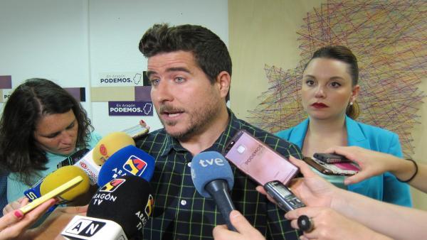 Podemos aboga por un gobierno de la izquierda en Aragón con la abstención del PAR