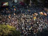 Concentración en contra del 'procés' en la Plaza Catalunya