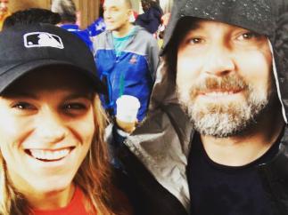 Lindsay Shookus y Ben Affleck