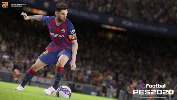 Messi en 'eFootball PES 2020'