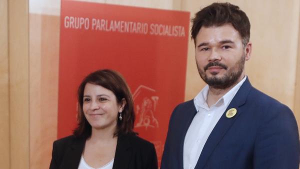 Lastra y Rufián