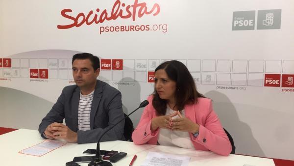 El PSOE de Burgos acusa a Cs de tener 'poca ética' y favorecer un 'engaño masivo' al electorado