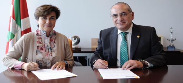 I-DE y el Departamento de Medio Ambiente formalizan el convenio para la protección de la avifauna