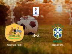 Australia se queda con los tres puntos frente a Brasil (3-2)