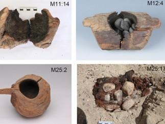 Olla antigua encontrada en una tumba de China para cocinar cannabis