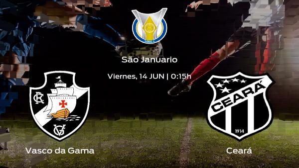Previa del partido: el Vasco da Gama recibe al Ceará en la novena jornada