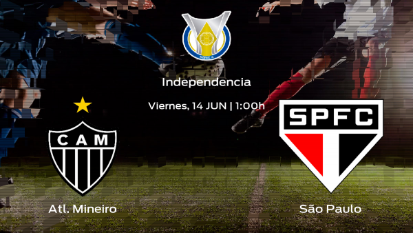 Jornada 9 del Campeonato Brasileño: previa del enfrentamiento Atl. Mineiro - São Paulo