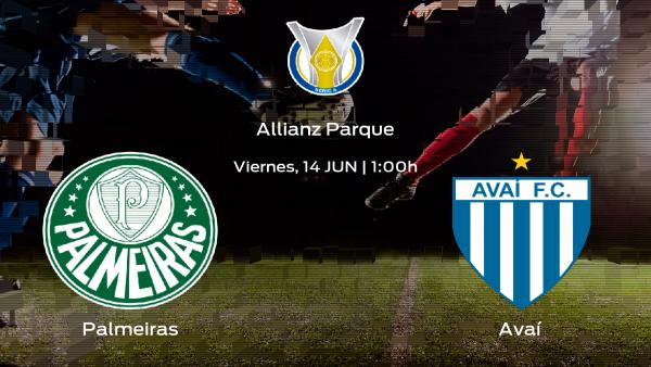 Previa del encuentro: el Palmeiras recibe en el Allianz Parque al Avaí
