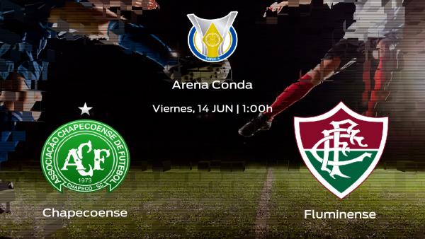 Previa del encuentro: Chapecoense - Fluminense, encuentro en el Arena Conda
