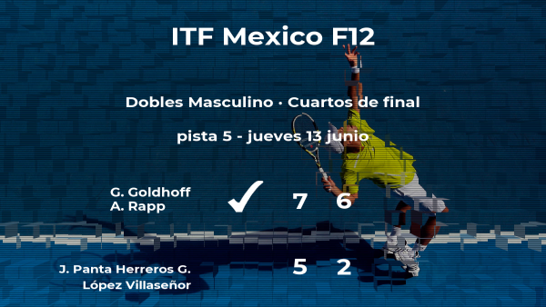 Los tenistas Panta Herreros y López Villaseñor se despiden del torneo de Cancún