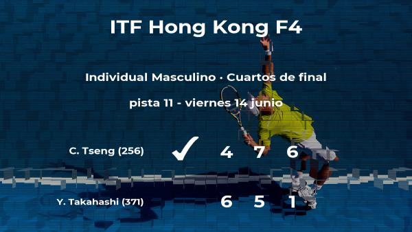 El tenista Chun Hsin Tseng pasa a las semifinales del torneo de Hong Kong