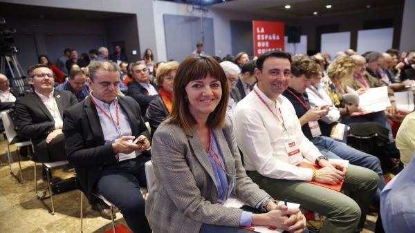 28A.- Mendia llama a 'consolidar' en Euskadi 'el tiempo de esperanza abierto' con Pedro Sánchez