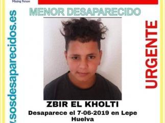 Buscan a un MENA de 13 años desaparecido en Lepe desde el pasado 7 de junio