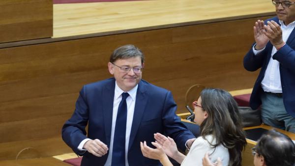 El Boletín Oficial de Les Corts publica la elección de Ximo Puig como 'president'