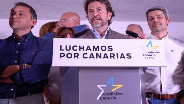 26M.- Alonso descarta pactar con el PSOE en Cabildo de Tenerife: 'Nos toca liderar el Gobierno con apoyo de PP y Cs'