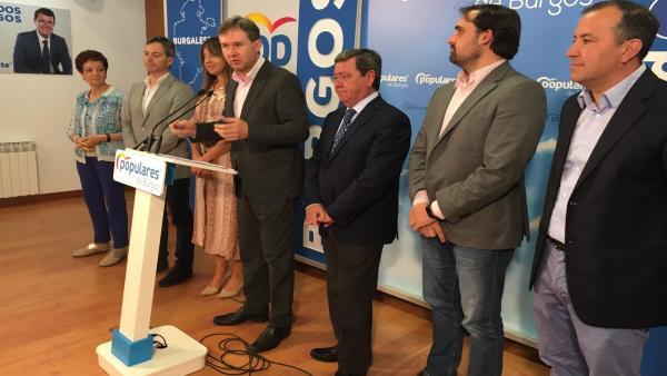 AVEl PP no descarta mantener la Alcaldía de Burgos su Cs rectifica su postura