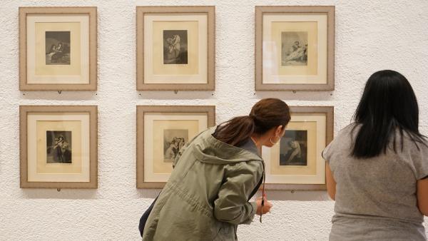 VÍDEO: La serie de grabados 'Las Mujeres de Goya' refleja la mirada feminista de un artista de contemporaneidad perpetua