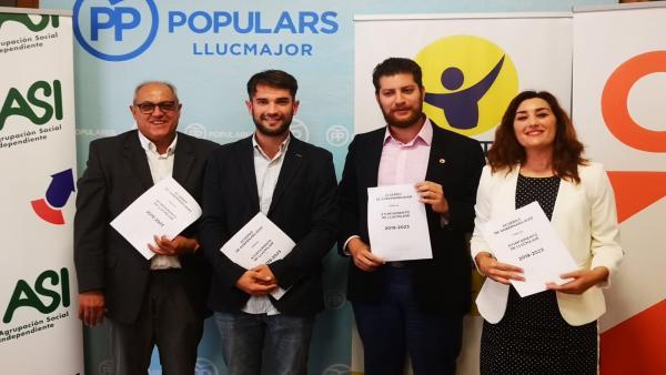Eric Jareño (PP) será el alcalde de Llucmajor en un gobierno con Cs, Llibertad Llucmajor y ASI con apoyo externo de Vox