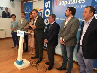 AV.- El PP no descarta mantener la Alcaldía de Burgos si Cs rectifica su postura