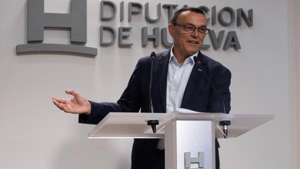 Huelva.- 26M.- Caraballo, 'satisfecho' con los pactos alcanzados, niega 'luchas' en el PSOE