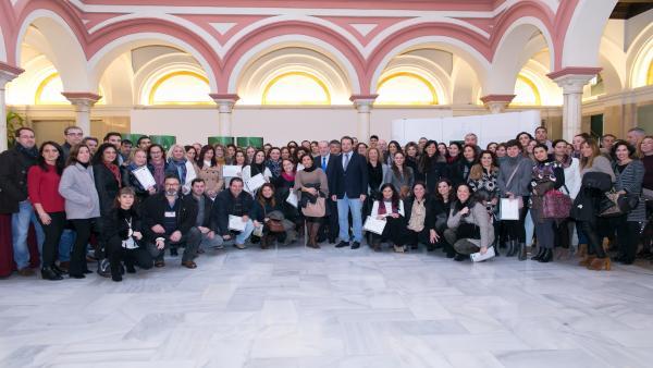 Sevilla.- Un total de 94 municipios, casi un 10% más que el año pasado, participarán en plan de formación de Diputación