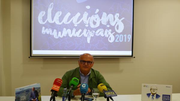 Baltar rechaza los 'vetos' de Ciudadanos y les insta a decidir si quieren pactar con el PP o 'con los nacionalistas'