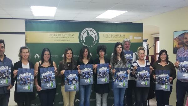 Un centenar de personas protagonizan la nueva campaña de DOP Sidra de Asturias
