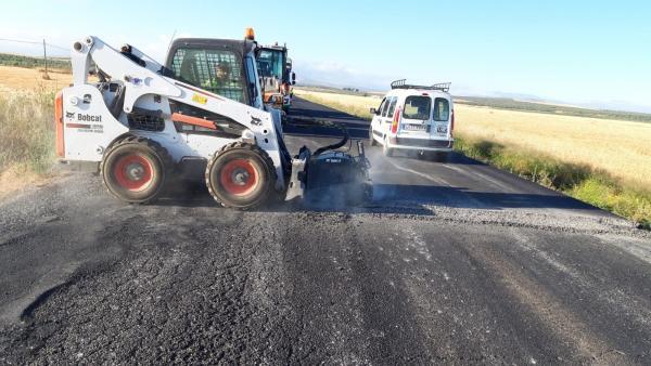 Málaga.- La Junta acomete obras de mejora en la carretera A-365 en Sierra de Yeguas