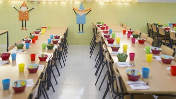 Educació convoca les beques menjador per al pròxim curs amb 72,7 milions d'euros