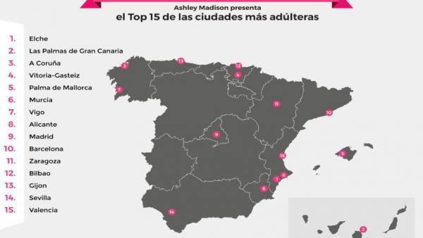 Vitoria y Bilbao entre las ciudades con personas más infieles a sus parejas del Estado, según un portal de citas