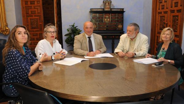CórdobaÚnica.- La Diputación y la Plataforma de Apoyo al Lobby Europeo de Mujeres cooperarán en materia de igualdad