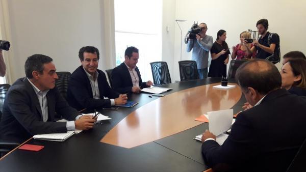 AMP.- PP y Cs cierran 'prácticamente' su acuerdo programático para las instituciones de Baleares