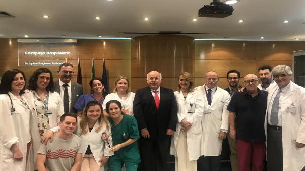 Málaga.-Regional implanta trasplante de médula en domicilio para favorecer recuperación y calidad de vida de pacientes