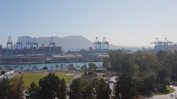Cádiz.-Puertos.- El tráfico de contenedores en el Puerto de Algeciras crece más de un 7% en el primer cuatrimestre