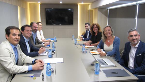 Córdoba.- 26M.- Bellido (PP) dice que no cree que afecte lo que ocurra en el Parlamento con la negociación de Córdoba