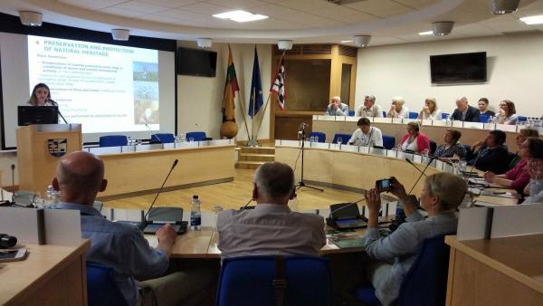 El Consorcio de la Serra de Tramuntana participa en el foro internacional sobre el Istmo de Curlandia