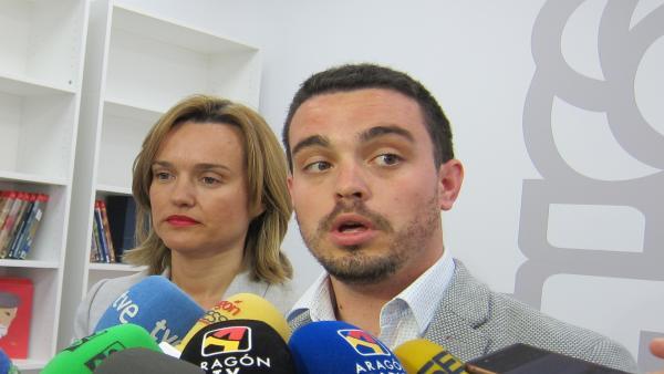 AV.- El PSOE lamenta que PP y Cs 'mercadeen con Aragón' y cree que la formación naranja ha perdido credibilidad