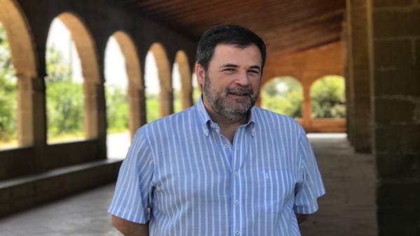 El portavoz de Cs en el Ayuntamiento de Huesca, José Luis Cadena