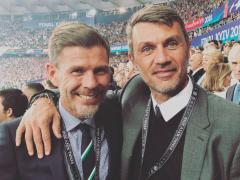 Boban y Maldini, leyenas del Milan