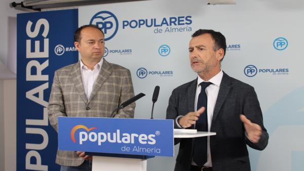 Almería.- PP garantiza que el Presupuesto andaluz atiende 'reivindicaciones históricas' de la provincia