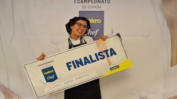 Una alumna de Hecansa participará en la final del concurso Makro Chef España 2019