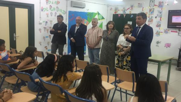 Huelva.- El colegio San Fernando gana el premio 'Mi Marisma, mi escuela' 2018-19 de la Junta