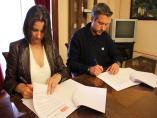 El acuerdo de PSOE y BNG en Lugo para formar 'un único gobierno' incluye la peatonalización de la Ronda da Muralla