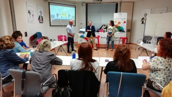 Huelva.- Empleo organiza cursos formativos para los técnicos de  la Red Andalucía Orienta en Huelva