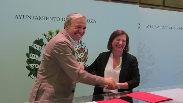 Zaragoza.-Azcón emplaza a Vox a explicar el cambio de actitud y les recuerda que si no le votan habrá alcaldesa del PSOE