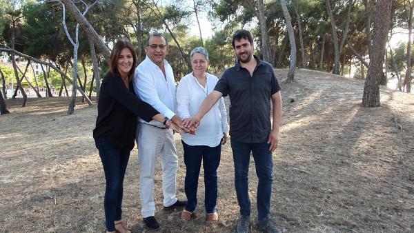 PSIB y la coalición Podem-MÉS sellan un acuerdo de gobernabilidad en el Ayuntamiento de Calvià