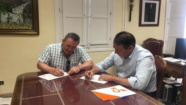 Almería.-26M.-PP y Cs cierran acuerdos de Gobierno en Vélez Rubio, Tíjola y Gérgal, con alternancia en los dos últimos
