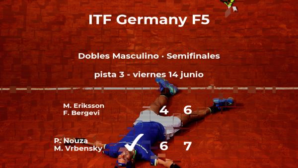 Nouza y Vrbensky pasan a la final del torneo de Kaltenkirchen