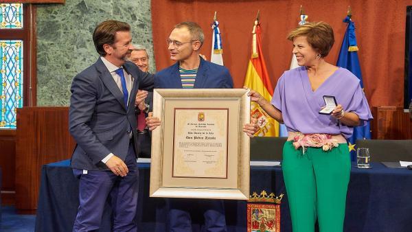 Pedro Zerolo es nombrado Hijo Ilustre de Tenerife a título póstumo