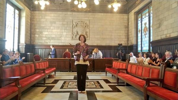 AV.- Madrenas (JxCat) repite como alcaldesa de Girona en minoría